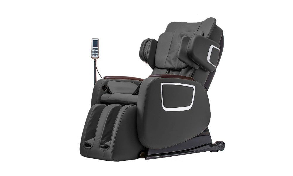Zero Gravity Shiatsu Massage Chair w/Heat and Long Rail